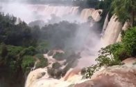 Beautiful Iguazu Falls In Brazil