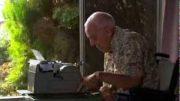 Extraordinary Typewriter Artist Shows His Works Of Art