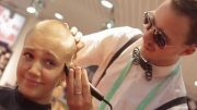 Girls Shaved Bald For IPAD