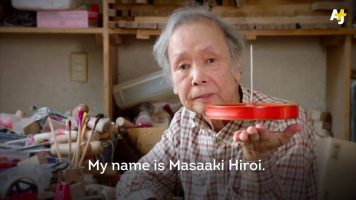 80 Year Old Japanese Toy Maker