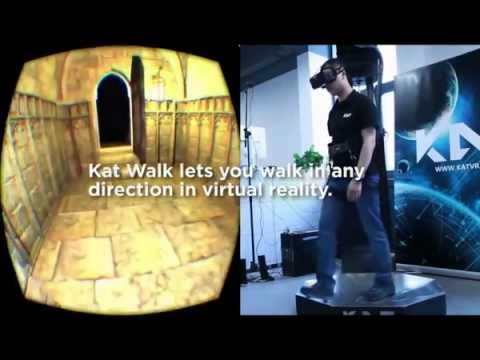 The Omnidirectional VR Treadmill