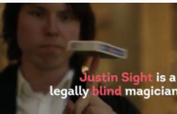 Meet New York's Legally Blind Magician
