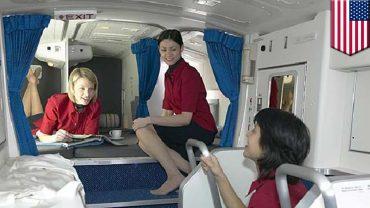 Boeing Dreamliner: Secret Rest Cabin For Pilots And Flight Attendants