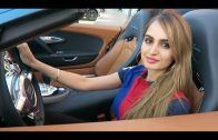 Girl Driving A Bugatti In Dubai