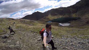 GoPro: Hiking Up Snowdon, North Wales, UK