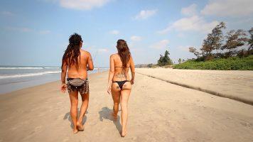 Walking On The Beaches Of Goa (Morjim, Ashwem, Mandrem, Arambol)