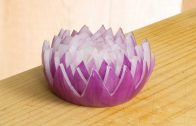 A Beautiful Flower Made From Onion