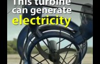 Amazing Underwater Turbine Generates Electricity