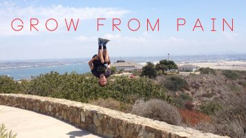 Grow From Pain | Free Running | Motivation