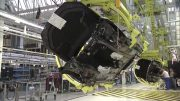 Mercedes S-Class Production In Factory