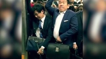 The Rush Hour In Tokyo Is Hilarious