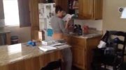 Wife Caught Dancing In The Kitchen