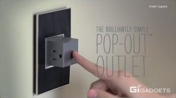 A Brilliant Pop-Out Power Outlet