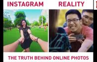 A Truth Behind Instagram Photos