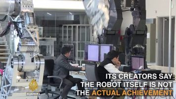 The Giant Manned Robots In South Korea