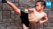 6 Years Old Baby Bruce Lee