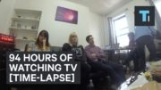 94 Hours Of Watching TV World Record