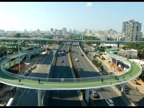 China's First Cycleway in Air Starts Trial Operation