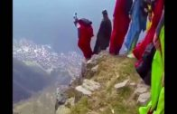 The Extreme Sky Diving From The Highest Mountain