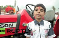 This 7-Year-Old Boy Is The Best Tractor Driver