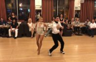 Amazing Salsa Dancers At A Party