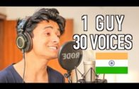 One Indian Guys With 30 Voices