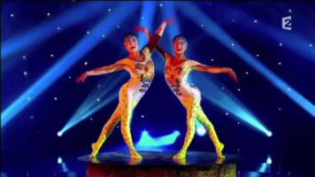 Ulzii And Oyuna Duo Contortion Act – Alegria