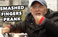 Fingers Smashed By Car Door Prank