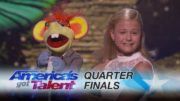 12 Year Old Singing Ventriloquist Amazes Again At AGT 2017