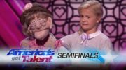 12-Year-Old Ventriloquist Performs Like A Natural Woman