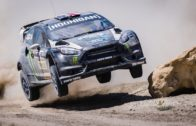 Rally Champion Ken Block Drifting In The Desert
