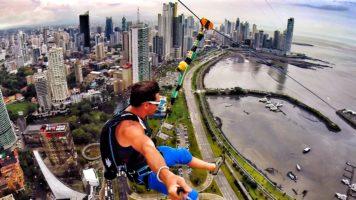 The World's Longest Urban Zip Line