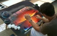 An Artist Makes Amazing 3D Painting