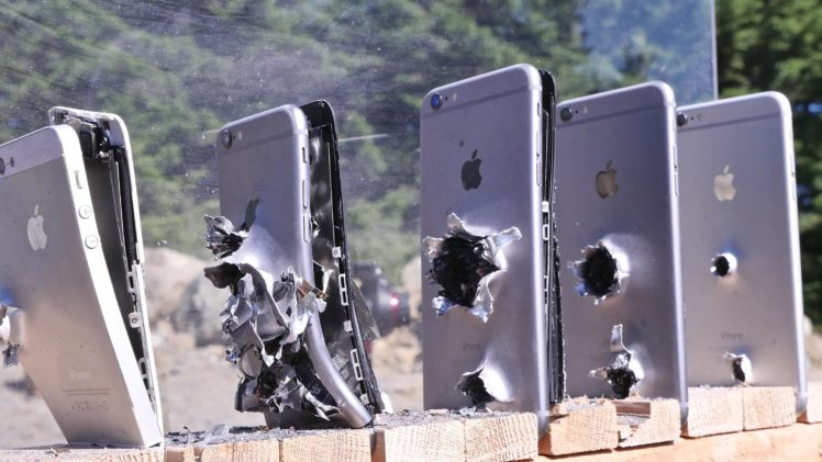 How Many iPhones Does It Take To Stop A Bullet?