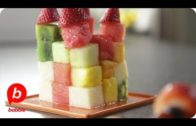 How To Make A Fruit Cube & Kebabs