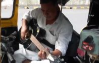 Mumbai Autowallah Playing Guitar