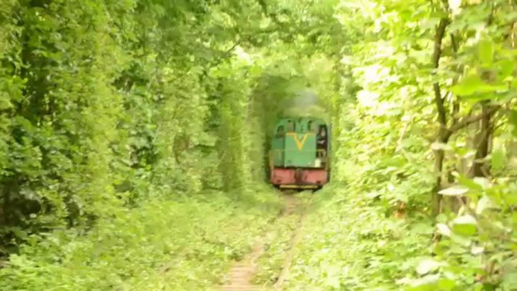 The Train In Tunnel Of Love, Ukraine