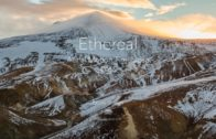 Icelandic Highlands In Aerial 4k