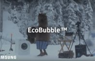 Huge Bear Surprises Crew on EcoBubble Photo Shoot