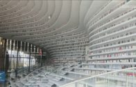 Newly-Opened Library In China's Tianjin Becomes Internet Sensation