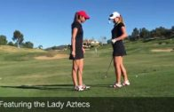 Women's Golf Team Trick Shots