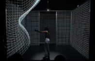 Dance With Interactive 3D Projections