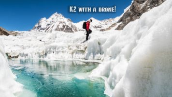 Mount K2 Shot With A Drone