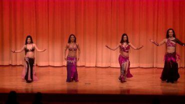 Belly Dancers Perform At Japan Koriyama Event