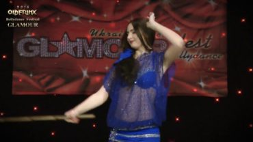 Vlada Yanyuk Performs At The Glamour Bellydance Festival