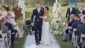 A Miraculous Wedding Walk