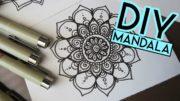 Learn How To Draw A Mandala