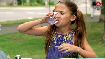Stranger Serving Tequila Shots To Little Girls