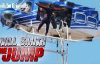Will Smith Bungee Jumps Out Of A Helicopter