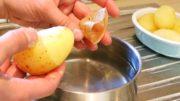 A Fastest Way To Peel A Potato